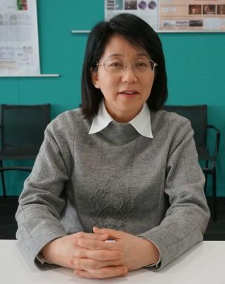 다카하시 마사요 프로젝트 리더는 지난해 9월 iPS 세포를 이용한 임상시험을 주도했다. - 고베=이우상 기자 idol@donga.com 제공